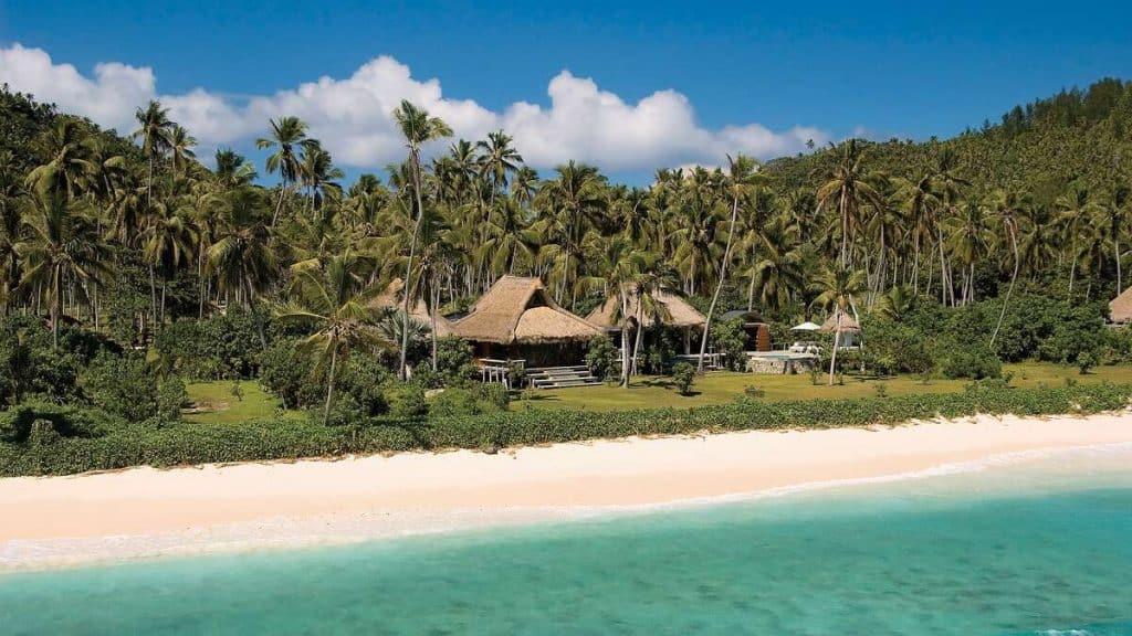 Deres hjem på North Island; The Presidental Villa.