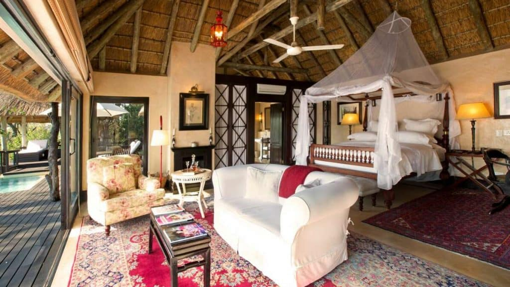 Royal Malawane Safari Lodge.