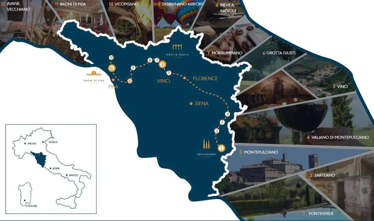 The Tuscan Route – utforsk Toscana med stil 2