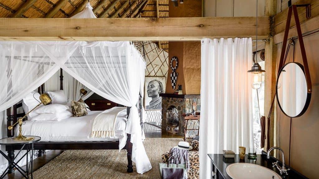 Singita Ebony Lodge i Sabi Sand i Sør-Afrika.