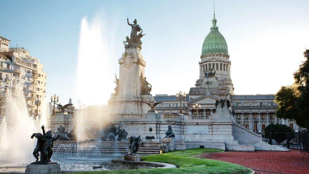 Palacio del Congreso i Buenos Aires.