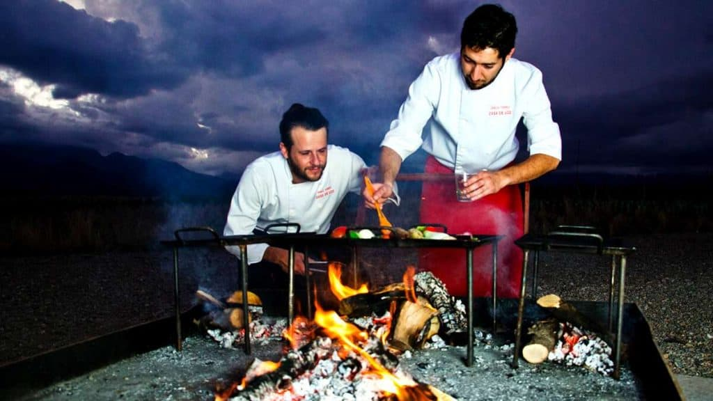 Mendoza: Tradisjonell argentinsk BBQ