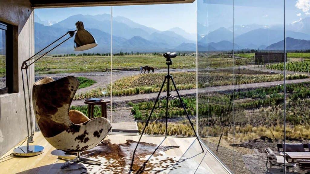 Mendoza: Nyt god mat og vin i det eventyrlignende landskapet i det argentinske høylandet.