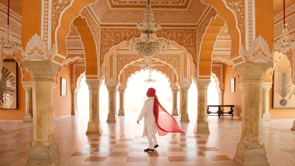 City Palace i Jaipur, India.