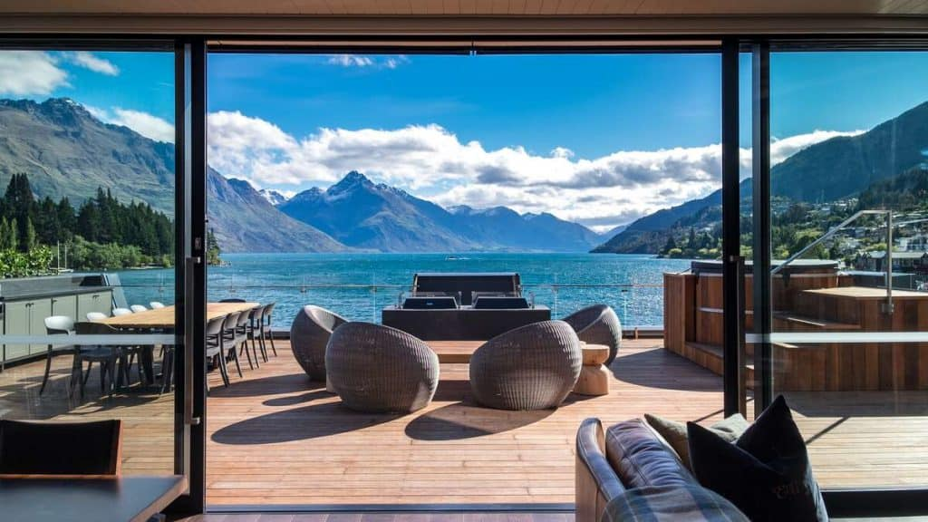 Eichardt's Private Hotel i Queenstown.