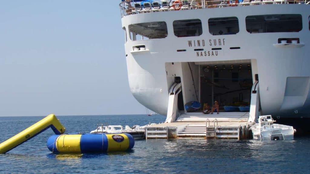 Vannsportplattformen på Wind Surf.