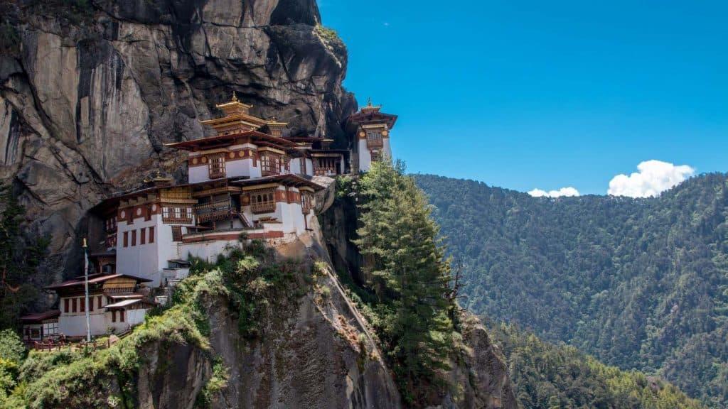 Lykkelandet Bhutan.