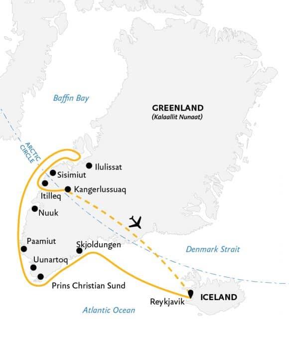 Kart Essential Greenland 2021