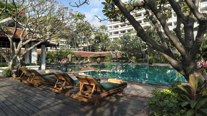 Anantara Riverside Bangkok Resort.