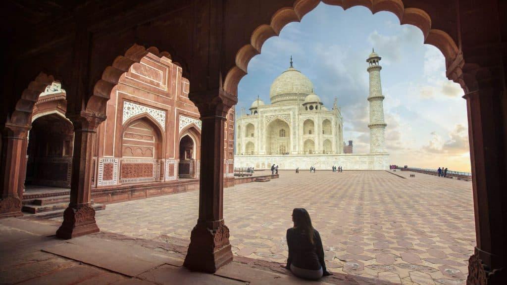 Utforsk India og Nepal.