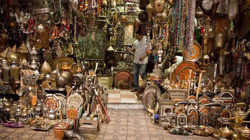 Opplev fargerike Marokko.