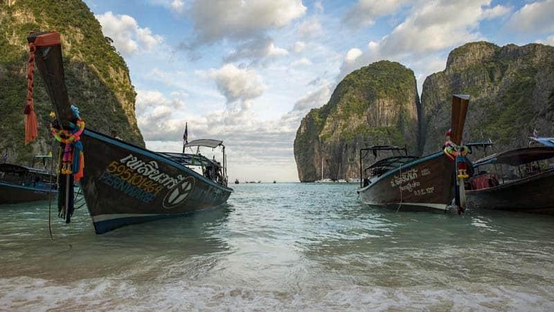 Utforsk Thailand.