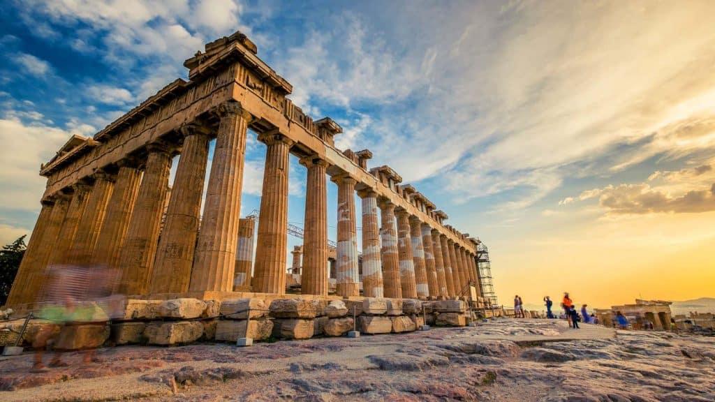 Akropolis i Athen.